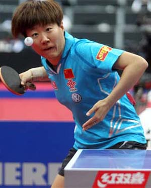 Guo Yan winner of 2011 Harmony China Open