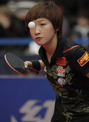 Liu Shiwen winner of Hungarian Open 2012