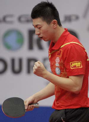 Ma Long winner of Hungarian Open 2012